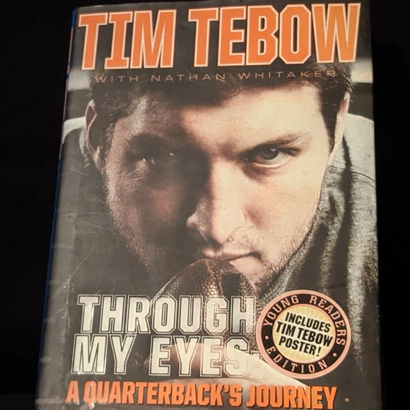 Through my eyes by Tim Tebow (poster included)